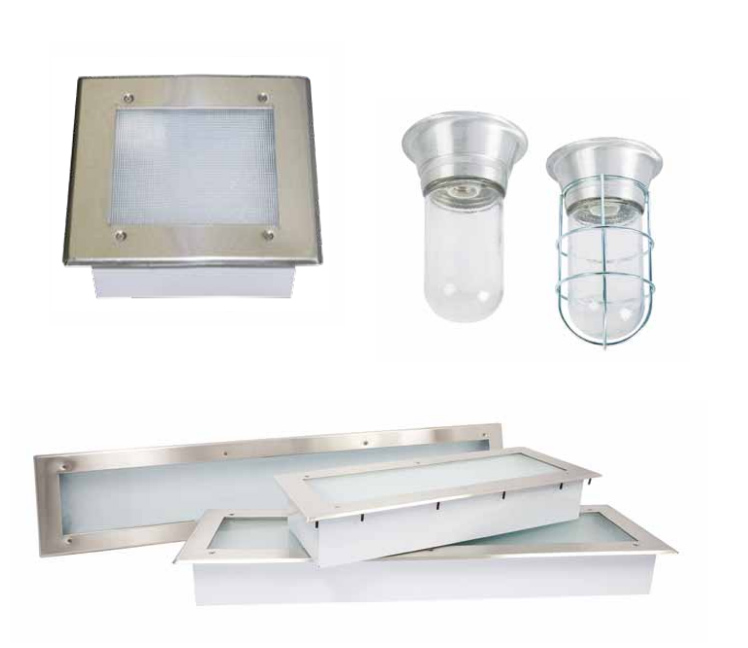 Commercial Kitchen Canopy Hood Lights