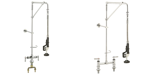 Commercial Kitchen Pre-Rinse Units on Swivel Arm