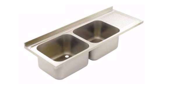 Commercial Sink Tops, Bowl and Drainer