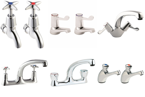 Commercial Chrome Plated Taps