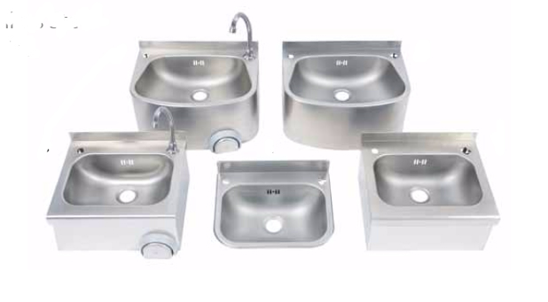 Wall Mounted Stainless Steel 304 Wash Hand Basins