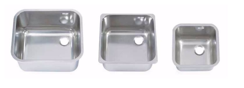 Weld In - Stainless Steel 304 Sink Bowls