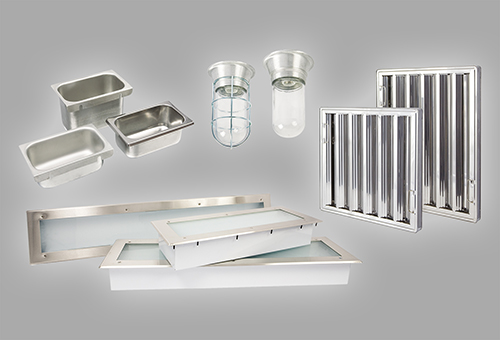 Canopy Hood Accessories Commercial Catering - Kitchen hood light fixtures