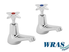 Commercial Basin Taps - WRAS approved - Chrome Plated