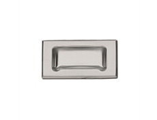 Pulls - Recessed - Stainless steel & black ABS thermoplastic