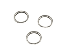 Finishing Rings - Brass Nickel Plated