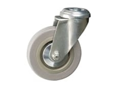 Economy Range - Grey Rubber Tyred Wheel