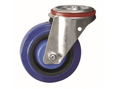 Bolt Hole Fitting - Elastic Rubber Tyre