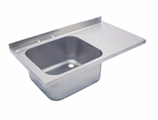 Sink Tops - Commercial Kitchen Sink Tops - Stainless Steel