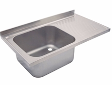 Sink Top - 1200 x 650 single bowl, single drainer