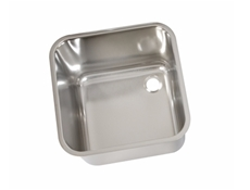 Weld In / Inset Sink Bowls - Polished - Stainless Steel Upstand Strainer & Chrome Plated Waste