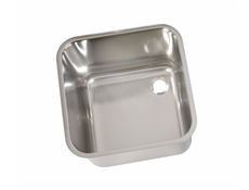 Weld In / Inset Sink Bowls - Polished - Stainless Steel Upstand Strainer & Waste