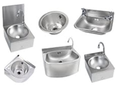 Wash Hand Basins - Stainless Steel