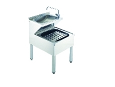 Janitorial Sink Units - Stainless Steel