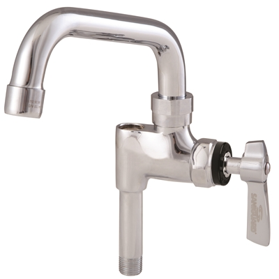 "Add-on Faucet - KN55 Series - Add-on faucet with swing spout - 6"" length - Die Pat"
