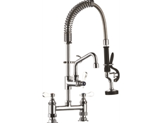 Pre-Rinse Unit - H2O - MINI - Double deck mounted - With flexible hose