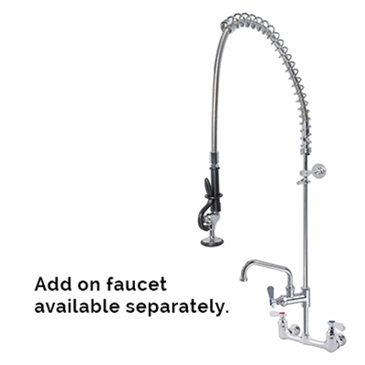 Pre-Rinse Units - H2O - Double wall mounted - With flexible hose - Die Pat
