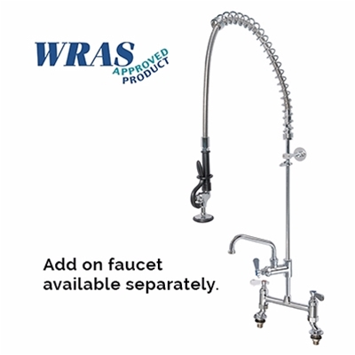 Pre-Rinse Units - H2O - Double deck mounted - With flexible hose - Die Pat