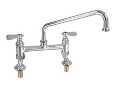 Double deck mounted Pantry Tap - 6""