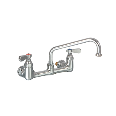 "Double wall mounted Pantry Tap - 8"" - Die Pat"