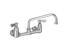 Double wall mounted Pantry Tap - 12""