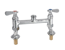 Deck mounted mixer tap unit body only