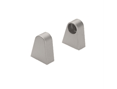 Handle Supports - Aluminium satin - One pair
