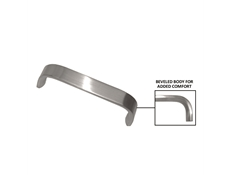 Pulls - Bar Stainless steel satin - 165mm