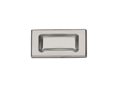 Pull - Recessed - Stainless steel with frame bevelled edge