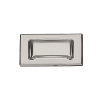 Pull - Recessed - Stainless steel with frame bevelled edge - Die Pat
