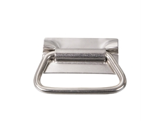 Pulls & Catches - Stainless steel - Heavy duty - Straight back drop handle - 86mm