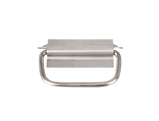 Pulls & Catches - Stainless steel - Straight back drop handle - 89mm
