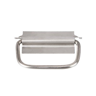 Pulls & Catches - Stainless steel - Straight back drop handle - 89mm - Die Pat