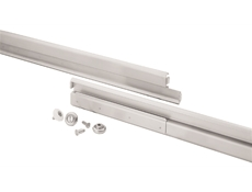 Heavy Duty Drawer Slides - S52 Series - Stainless steel - Full extension - With Delrin bearings - 22""