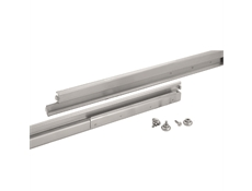 Heavy Duty Drawer Slides - S10 Series - Zinc plated - Full extension - With zinc plated bearings - 24""