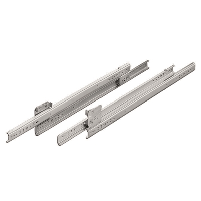 "Heavy Duty Drawer Slides - S15 Series - Steel zinc plated - 18"" - Die Pat"