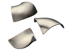 Corner Insert - Stainless Steel - Triangular - 14ga (1.8mm)