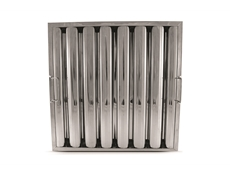 "16"" x 16"" - Stainless Steel Baffle Grease Filter - F91 Range"