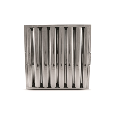 "20"" x 20"" - Stainless Steel Baffle Grease Filter - F91 Range - Die Pat"