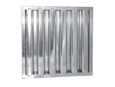"10"" x 20"" - Stainless Steel Baffle Grease Filter - F51 Range"