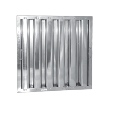 "16"" x 16"" - Stainless Steel Baffle Grease Filter - F51 Range - Die Pat"