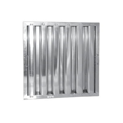 "20"" x 16"" - Stainless Steel Baffle Grease Filter - F51 Range - Die Pat"
