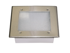 Recessed Canopy Hood Light Fixture - 340mm x 340mm