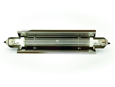 Infrared Heat Lamp Assembly - Jacketed long push - 500 watt - Low pressure