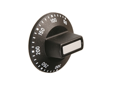 Black control knob - Marked  50°C to 300°C
