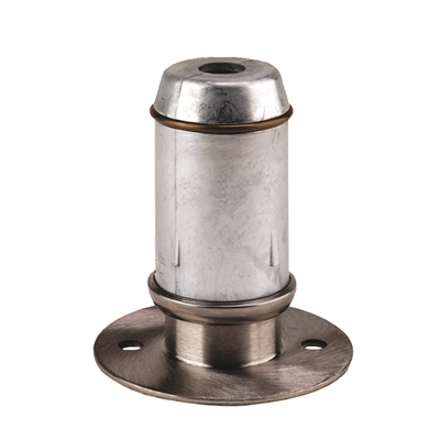 Foot Insert - Flanged Adjustable - 51mm Round - Mounting Holes - S/S - Die Pat