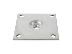Equipment Legs - Heavy Duty - Stainless Steel Mounting Plate - 6mm