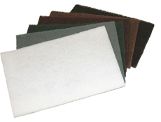 Sait Abrasive Hand Pads - Heavy duty - Brown