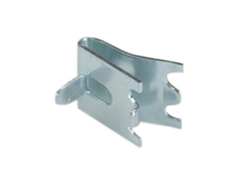 Snap-In Shelf Support - Stainless Steel - Tab height 11mm - Clip width 22mm