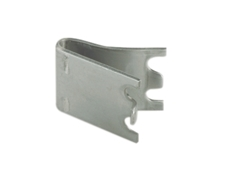 Snap-In Shelf Support - Zinc Plated - Clip width 16mm